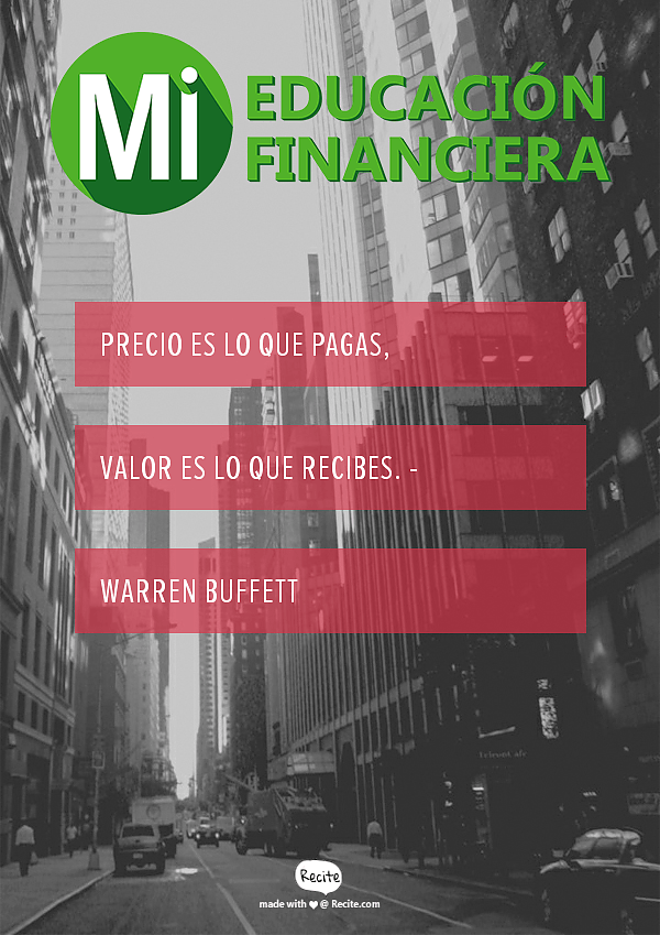 Frase Warren Buffett